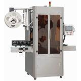 Escritura de la etiqueta que encoge de la calidad que inserta la máquina