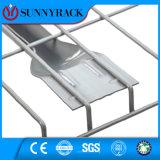 パレットラッキングのための溶接された電流を通された鋼線の網のDecking