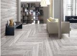 Azulejo de suelo de madera de la mirada del vario precio barato del diseño de cerámica