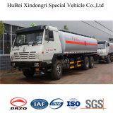 caminhão do depósito de gasolina do euro 4 de 23cbm Shanqi LHD Rhd