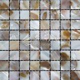 Mosaico de agua dulce del color de Brown de la naturaleza del shell