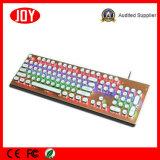 Neue professionelle runde mechanische Tastatur des Tasten-Spiel-104