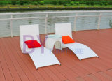 Q Bend Type Outdoor Leisure Beach Pool Terrace Chaise Lounge
