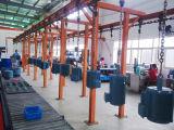 Riga di rivestimento ambientale della polvere del trasportatore per il pezzo in lavorazione industriale