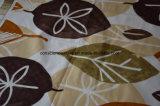 100%Polyester葉Pigment&Disperseは寝具セットのためのファブリックを印刷した