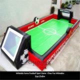 Gioco gonfiabile di sport della corte di gioco del calcio per il gioco di calcio esterno