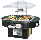 Cheering Salad Bar Restaurante Salada Bar Cooler Buffet Bar Refrigerador