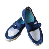 De antistatische Schoen van het Werk voor Cleanroom, ESD Netwerk (riem-kleverige schoen)