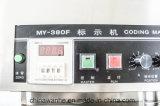 Tipo ancho máquina de la codificación de la tinta sólida para el número de tratamiento por lotes (MY-380F)