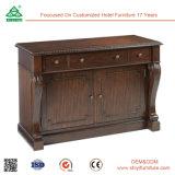 工場価格の美しいSolied木食器棚