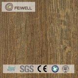 Plancher en bois de luxe de cendre de Lvt de regard