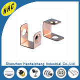 Estampagem de metal Custom Made U Shaped C1100 Copper Terminal for Motorcycle Parts