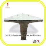 Le matériel normal de meubles partie la patte en aluminium de sofa avec la bonne performance