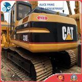 Máquina escavadora do gato 320b para a venda
