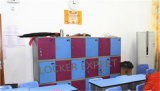 Casier de plastique de casier de gosse de casier d'école
