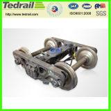 كبيرة رمز فولاذ سكك الحديد صب أو عمليّة تطريق أجزاء/قافلة تموين مسند لأنّ عربة منخفضة