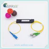 Divisor de fibra óptica de 2 maneras, 1X2 Gpon Tipo de caja