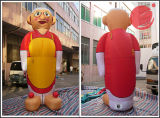 Mascotte gonfiabile C1-302 del personaggio dei cartoni animati della nonna