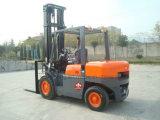 Хозяйственный грузоподъемник Fd50 5 тонн тепловозный с твердыми покрышками