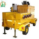 쓰레기 탈수 상승 물 디젤 엔진 회전자 펌프 트레일러