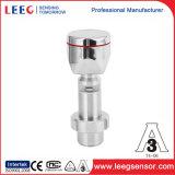 Transdutor de pressão de alta temperatura sanitário do diafragma