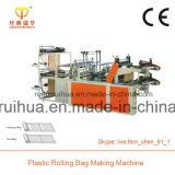 Doppelte Schicht-Plastikwalzen-Beutel, der Maschine herstellt