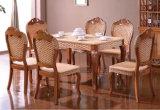A mobília do Rattan ajustou-se para o hotel da sala de jantar