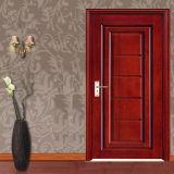 Porta de madeira interior antiga cinzelada mão do quarto (GSP2-068)