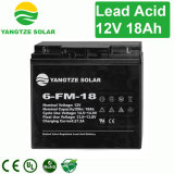 Bateria acidificada ao chumbo recarregável de 12V 18ah