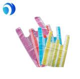 Сверхмощное HDPE/LDPE напечатало пластичные тельняшку/хозяйственную сумку ручки