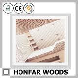 La cornice di legno del Brown assottiglia il blocco per grafici