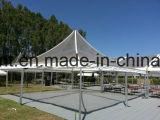 Gran Carpa hexagonal de aluminio Estructura de exposición al aire libre de eventos