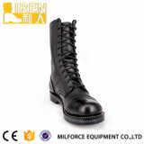 Черная безопасность конструкции верхнего качества новая Boots воинский ботинок боя