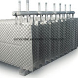 Scambiatore di calore di raffreddamento dell'acqua salata e del sistema di riscaldamento