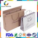 Сильный бумажный мешок упаковки картона для покупкы