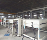 プラスチック突き出る機械装置のHDPEのガス管の放出機械