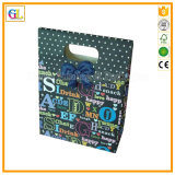 Sacchetto impaccante di carta di alta qualità, sacchetto di acquisto di carta