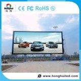 Visualizzazione di LED di colore completo P10 di pubblicità esterna con la video parete