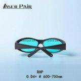 Rhp Protection Glasses O.D4+@600-700nm Transmittance: 50% ontmoeten Ce En207 voor Rode Lasers, Robijn