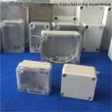 Protecteur transparent en plastique de connecteurs électroniques de fil
