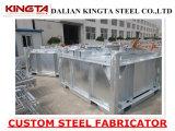 Kundenspezifisches Schweißens-Stahlteil heißes BAD galvanisierter beschichtender Fabrik-Hersteller