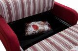 Base di sofà volta del tessuto della mobilia tre superiori dell'hotel (VV936)