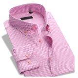 최신 디자인 100%년 면 형식적인 가득 차있는 소매 남자의 예복용 와이셔츠