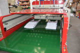 Automatisches Hochgeschwindigkeitspolypropylen-biodegradierbarer Plastikeinkaufen-Shirt-Beutel, der Maschine herstellt