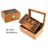 Caixa Combinada Luxo para a Jóia E o Relógio