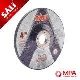 Roda de moedura abrasiva Center deprimida para o metal/aço inoxidável
