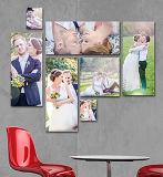工場価格の卸売のウォール・ディスプレイキャンバスの個人化されたプリント写真
