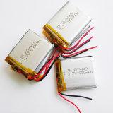 batería recargable del ion del Li-Po Li del polímero del litio de 3.7V 900mAh 603443 para el componente electrónico móvil del MP3 MP4 MP5
