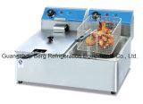 Fritadeira Elétrica de Contador de Aço Inoxidável Comercial
