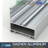 Do perfil de alumínio da porta do indicador da extrusão do mercado de Maldives grão de madeira